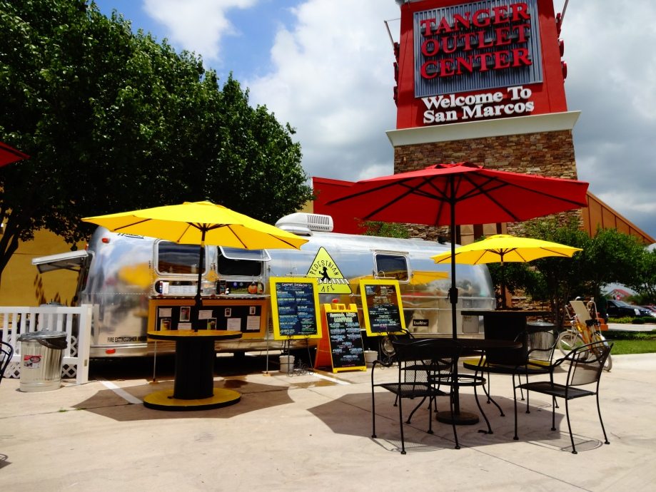 Pedestrian Cafe Food Truck Review: The San Marcos Food Blog