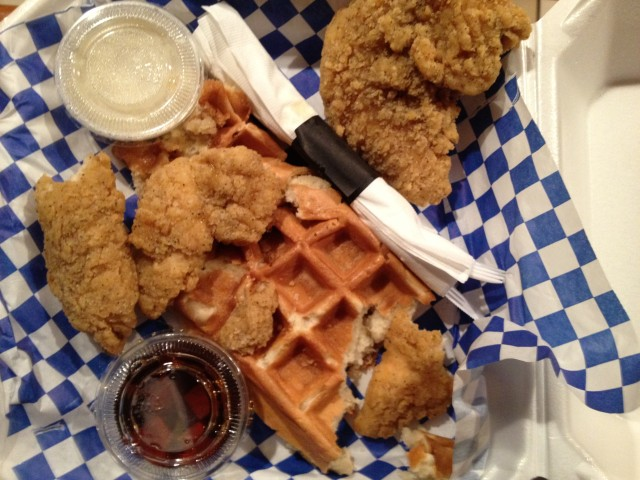 Chicken and Waffles2