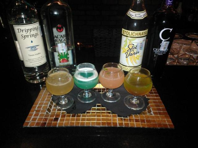 Temptation Martini Flight