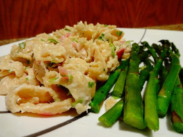 Prosciutto and Cream Pasta