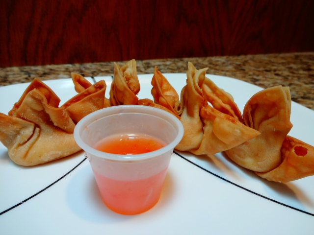 Crab Rangoon 1