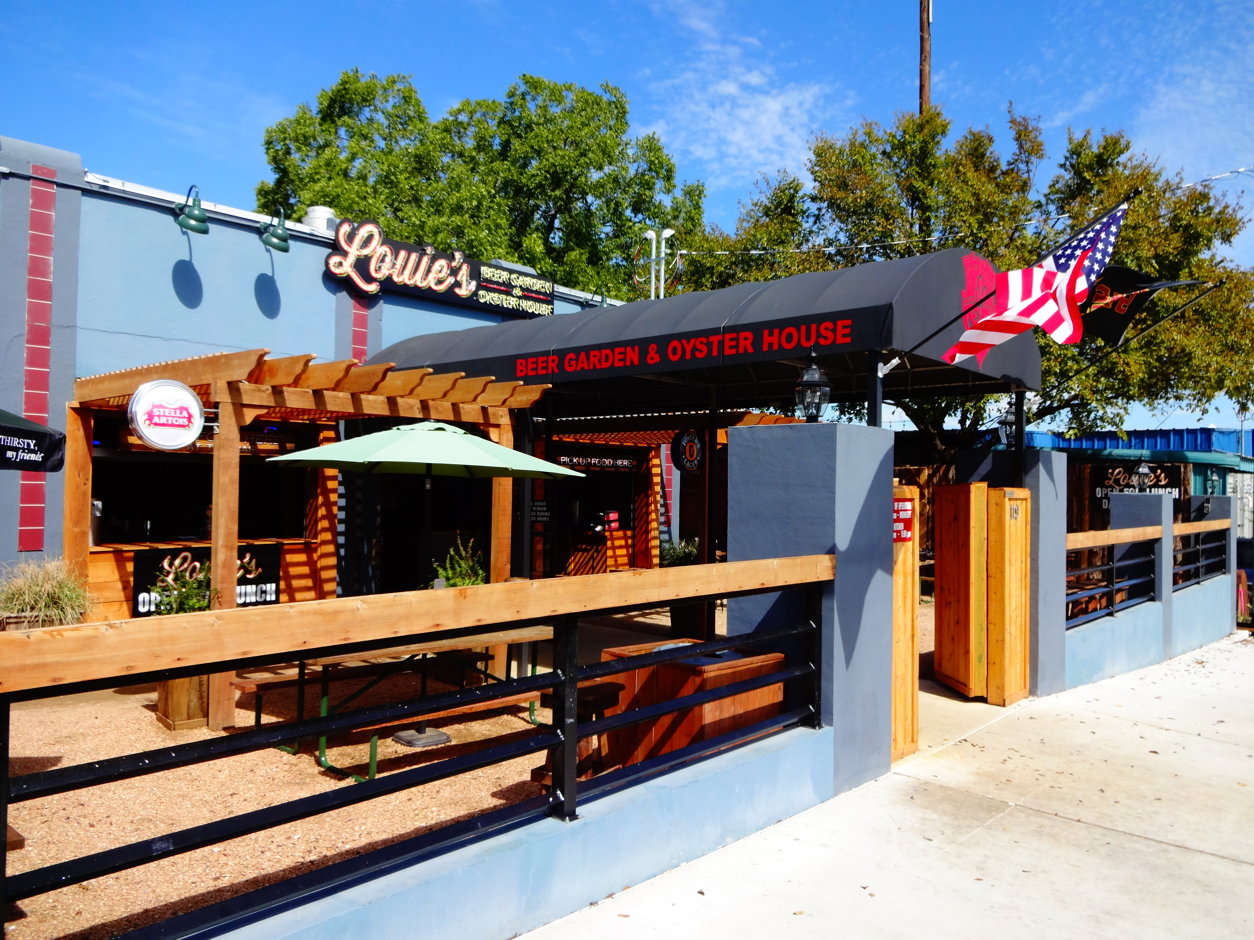Louies Oyster House and Beer Garden Review The San Marcos Food