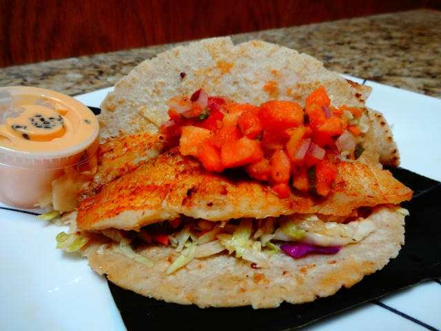 Hawaiin Fish Tacos