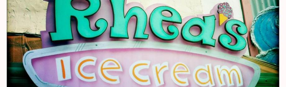 Rhea's Ice Cream Review: The San Marcos FoodBlog
